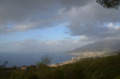 View over sorrento coast