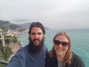 Amalfi drive selfie