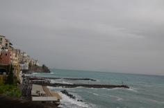 Stormy coast - Amalfi town