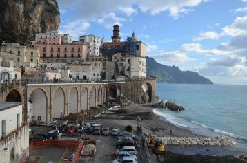 Amalfi drive on a better day
