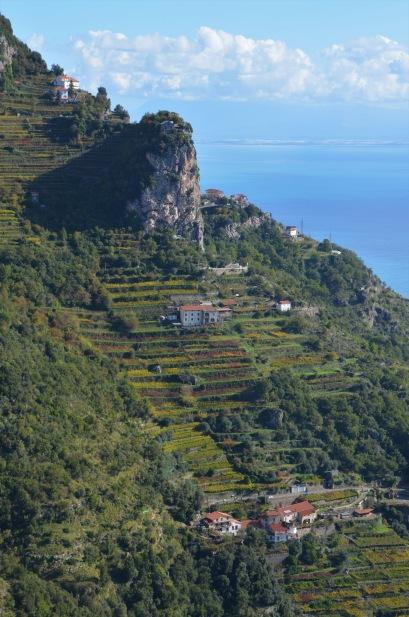 Looking towards Salerno