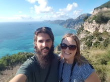 Amalfi Coast selfie