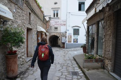 Walking in Ravello