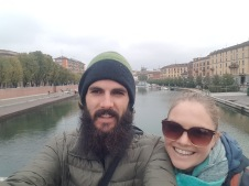 Canal selfie