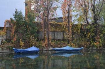Autumn boats