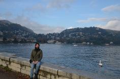 Kadin on Lake Como