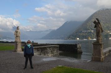 Gemma near the lake