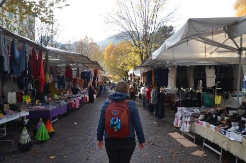 Markets in Como