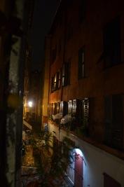 Rainy night in Old Nice