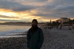Kadin on the beach