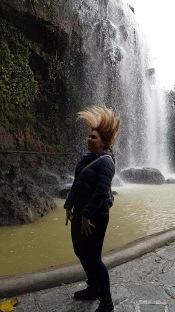 Gemma's waterfall hair