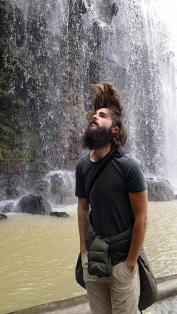 Kadin's waterfall hair