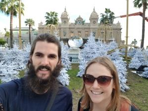 Monte-Carlo Xmas selfie