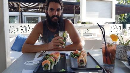 Sushi and Mojito