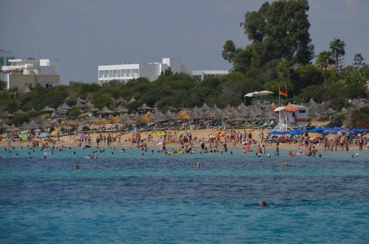 Ayia Napa Beach (our next destination)
