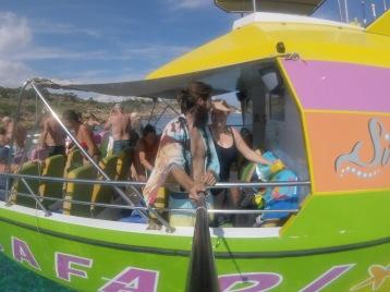 Gopro boat selfie