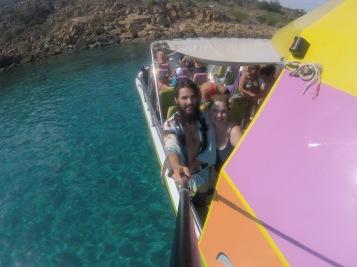 Gopro boat selfie 2