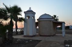 Church near Ayia Napa coast