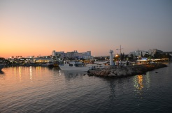 Ayia Napa Harbour sunset