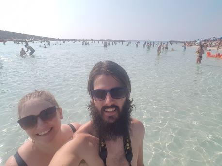 Swim selfie