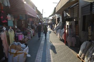 Walking the market