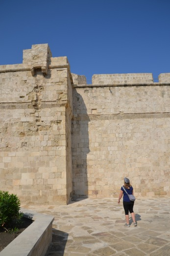 Limassol castle walls