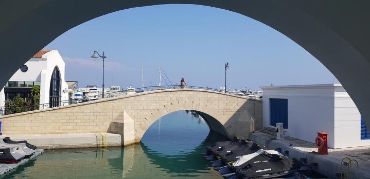 Kadin on his bridge