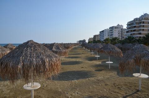 Empty beach (off season)