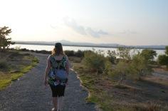 Heading to the salt lake