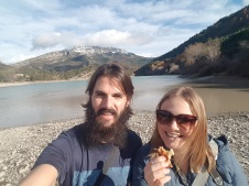 Lunch at Lac de Castillon