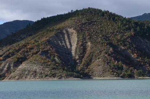 Stripy landslide