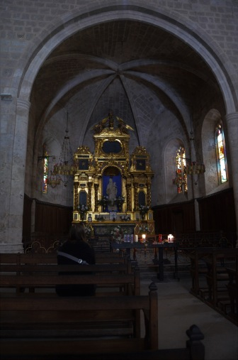 Inside the chapel