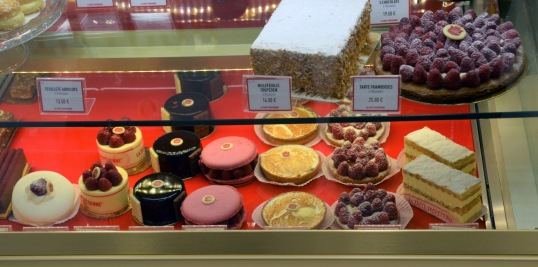 Delicious french desserts