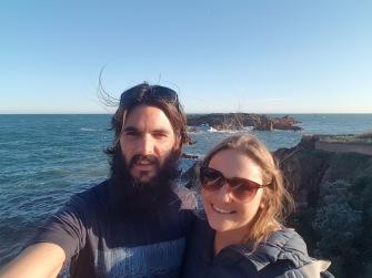 Coast selfie