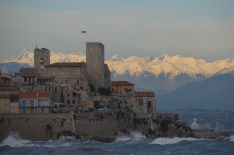 Antibes and Alps