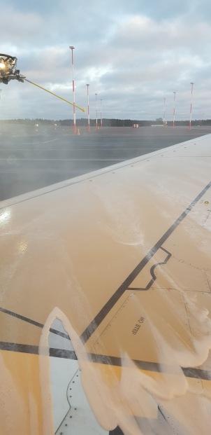 Orange foamy wing