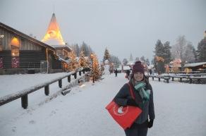 Shopping in Santa's Village