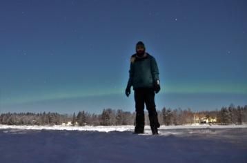 Kadin and the northern lights