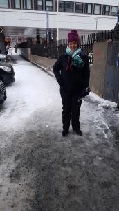 Super slippery walking