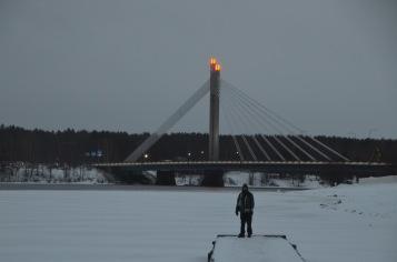 Kadin and Lumberjack's Candle Bridge