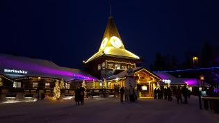 Santa Village lights