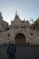 Gemma at Fisherman's Bastion