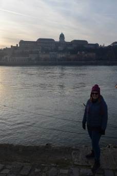 Walking along the Danube