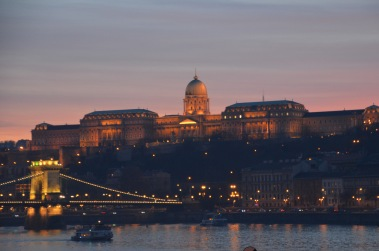 Looking across to Buda side
