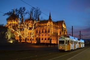 Festive tram