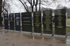 Memorial outside