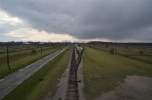 Concentration camp from the tower