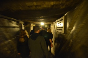 Walking through the tunnels