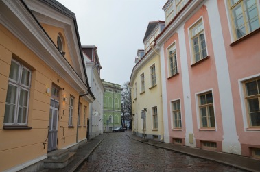 Pretty old town streets