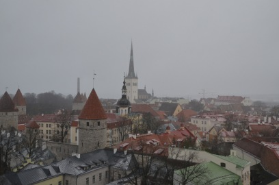 Beautiful Tallinn old town